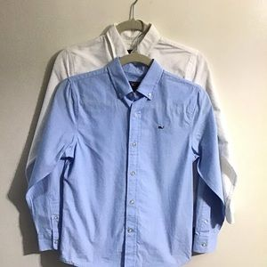 Lot of 2 Vineyard Vines button down. Small (8-10)